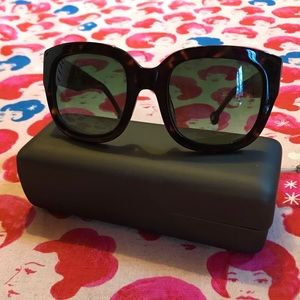 ANTHROPOLOGIE ETT:TWA tortoiseshell sunnies